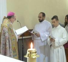 La Capilla del Seminario acoge la celebración del Rito de Admisión de dos seminaristas