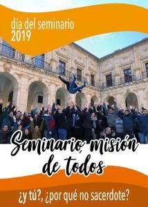 """""""El Seminario, misión de todos"""". Campaña del Día del Seminario en la Diócesis"""