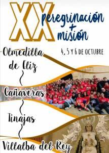 La Delegación Diocesana de Pastoral Vocacional, Juvenil y Universitaria organiza la XX Peregrinación + Misión diocesana.