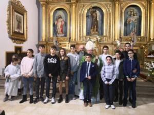 Visita Pastoral y Confirmaciones en la parroquia de Barajas de Melo