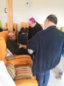 Visita Pastoral de Monseñor JoséMaría Yanguas a Horcajo de Santiago