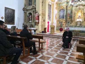 Visita Pastoral de Monseñor José María Yanguas a La Puebla de Almenara