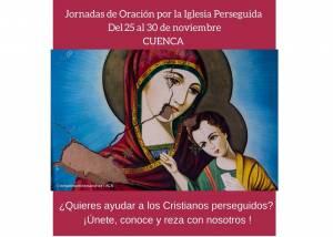 Semana de oración por la Iglesia Perseguida, del 25 al 30 de noviembre
