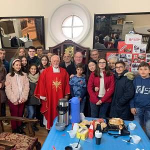Monseñor José María Yanguas realiza una Visita Pastoral a la parroquia Ntra. Sra. de la Asunción de Tarancón